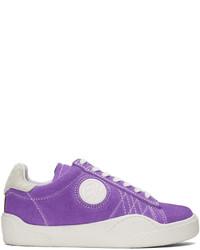Eytys Purple Wave Rough Uv Sneakers