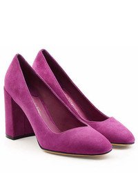 Salvatore Ferragamo Suede Pumps