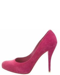 Christian Dior Suede Semi Pointed Toe Pumps