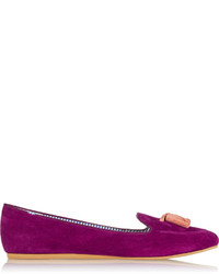 Charles Philip Shanghai Sylvie Suede Loafers