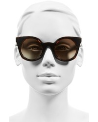 Fendi 48mm Cat Eye Sunglasses Yellow