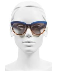MCM 56mm Retro Sunglasses Striped Orchid Visetos