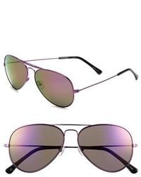 Converse 58mm Aviator Sunglasses