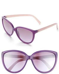 Ivanka Trump 58mm Cat Eye Sunglasses