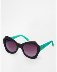 Asos Quay Mia Oversized Sunglasses