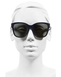 Christian Dior Dior Ribbon 55mm Sunglasses Havana Pink