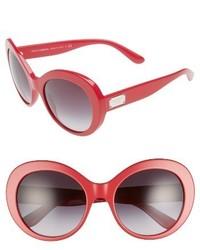 Dolce & Gabbana Dolcegabbana 57mm Round Sunglasses