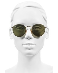 Ray-Ban Icons 50mm Round Sunglasses Lilac