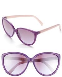 Ivanka Trump 58mm Cat Eye Sunglasses