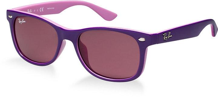 98cd5596941c Ray-Ban Junior Sunglasses Rj9052s New Wayfarer Kids, $80 | Macy's ...