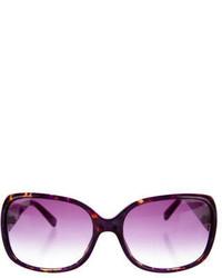 Just Cavalli Square Gradient Sunglasses