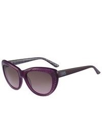 Karl Lagerfeld Sunglasses Ks6015 064 Purple 55mm