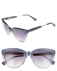 Derek Lam Lenox 53mm Cat Eye Sunglasses