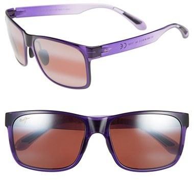 Maui Jim Red Sands 59mm Polarizedplus2 Sunglasses Purple Fade Maui Rose