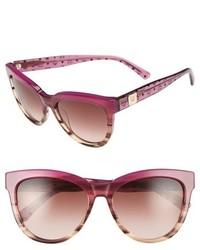 MCM 56mm Retro Sunglasses Black Visetos