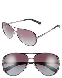 Michael Kors Michl Kors Collection 59mm Polarized Aviator Sunglasses