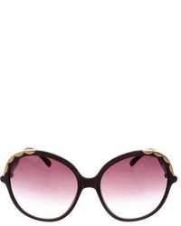 Chloé Oversize Tinted Lens Sunglasses