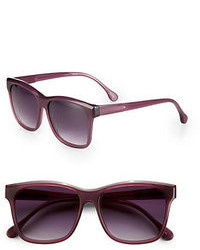 Elizabeth and James Park Wayfarer Acetate Square Sunglasses