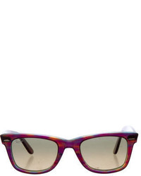 Ray-Ban Wayfare Purple Sunglasses