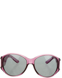 Burberry Translucent Oversize Sunglasses