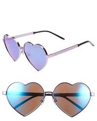 Wildfox Couture Wildfox Lolita 59mm Heart Sunglasses