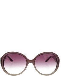 Saint Laurent Yves Oversize Ombr Sunglasses