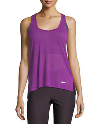 Nike Breeze Cool Scoop Neck Racerback Running Tank