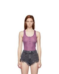 Isabel Marant Purple Louisali Tank Top