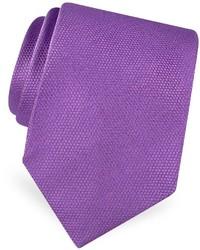 Gold line solid woven silk tie medium 337431