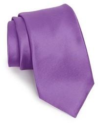 Shop solid satin silk tie medium 310468