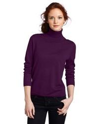 Pendleton Petite Classic Merino Turtleneck Sweater
