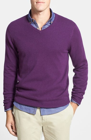 1901 Cashmere V Neck Sweater | Where to buy & how to wear