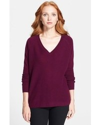 London ivetta v neck cashmere sweater medium 93147