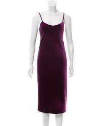 Velvet midi dress w tags medium 3663087