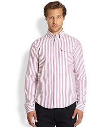 Michael Bastian Gant By Michl Bastian Oxford 50s Striped Shirt