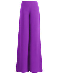 Purple Wide Leg Pants
