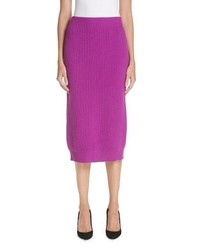 Marc Jacobs Wool Cashmere Pencil Skirt
