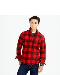J.Crew Buffalo Check Cpo Shirt Jacket | Where to buy & how to wear