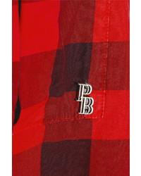 Balmain Pierre Checked Cotton Shirt