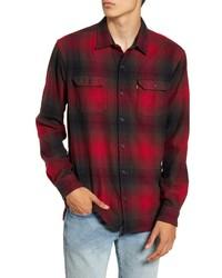 Levi's Jackson Slim Fit Check Button Up Flannel Shirt