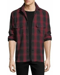Marcelo Burlon County of Milan Marcelo Burlon Ia Check Flannel Shirt