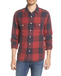 The Normal Brand Mountain Regular Fit Flannel Button Up Shirt