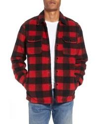 Plaid fleece shirt medium 8710234