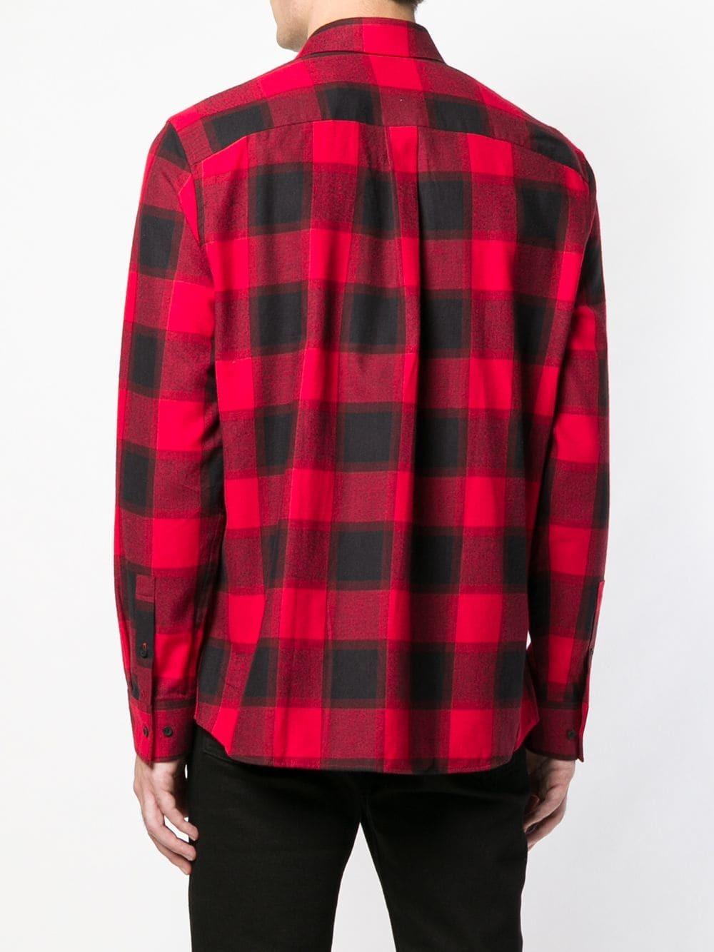 7065cbee55 Calvin Klein Checked Shirt, $128 | farfetch.com | Lookastic.com
