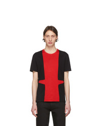 Alexander McQueen Black And Led T Shirt