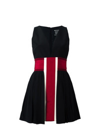 Fausto Puglisi Striped V Neck Dress