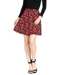 Active basics perfect floral skirt medium 122899