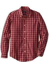 Brooks Brothers Non Iron Cotton Small Check Sportshirt