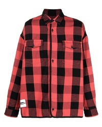 Facetasm Checked Cotton Shirt