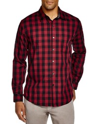 Hamstead check regular fit button down shirt medium 391943